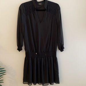 STÜSSY Black mid-length dress